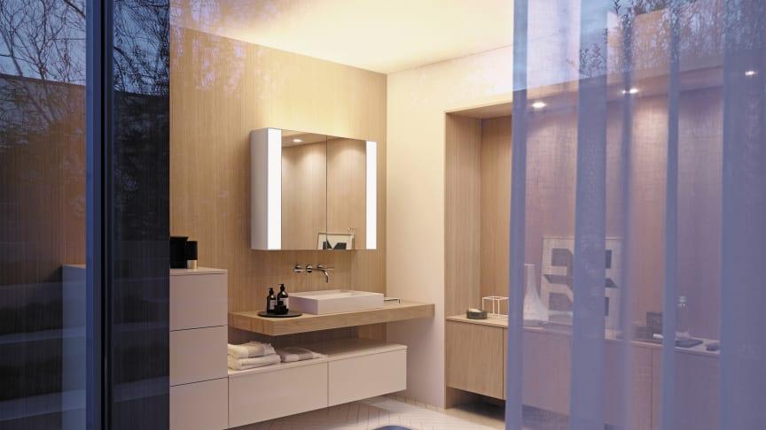 RL40 Room Light: Innovativer Spiegelschrank von burgbad bringt eine neue Beleuchtungsqualität ins Bad