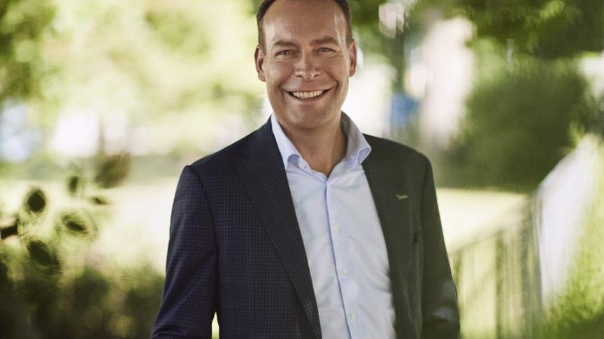 Konsernsjef i Orkla, Jaan Ivar Semlitsch. Foto: Bjørn Wad