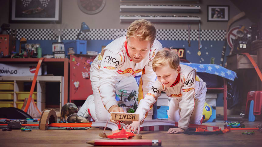 50 Jahre Hot Wheels - Nico Rosberg