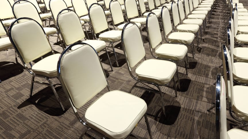 You've organised a seminar or conference, but many registered delegates don't show up. How can you ensure you get bums on seats?
