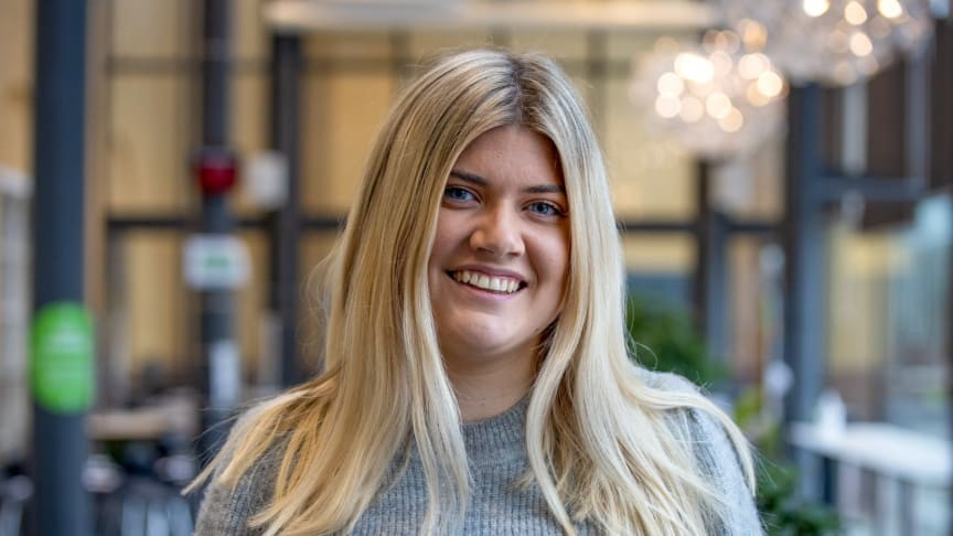 Tidigare studentkonsult och numer marknads- och kommunikationsansvarig i Kristianstad Akademi vid Högskolan Kristianstad.