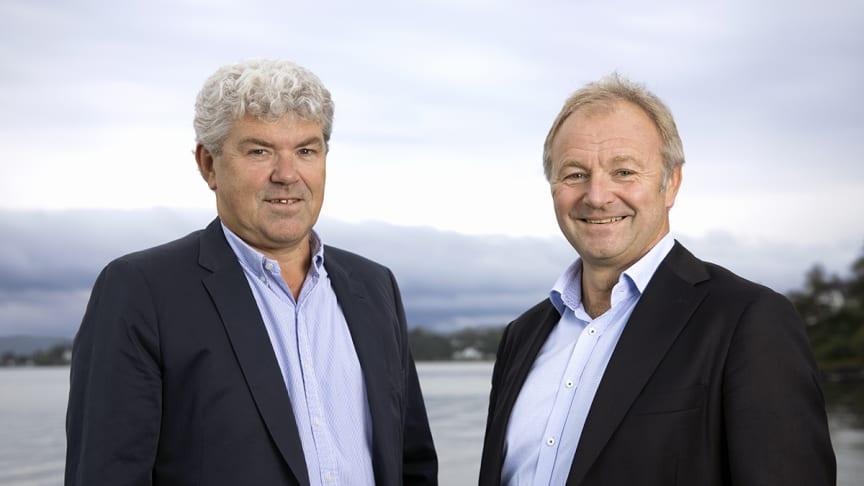 Jan Henning Quist, ECT og Bård hernes, Norconsult. Foto: Trygve Indrelid / NTB