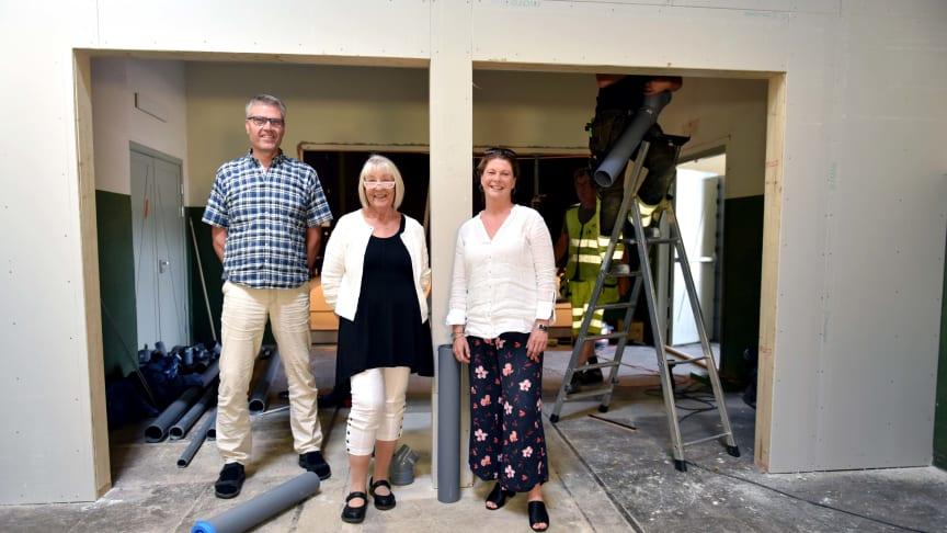 Ulf Bjäreborn Olsson, Lena Sandgren och Maria Sköldqvist.