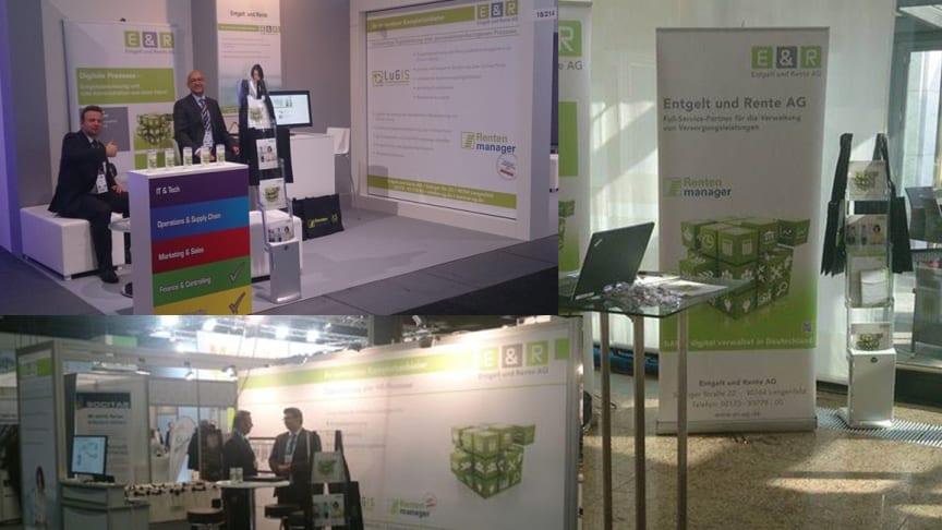 E & R auf der Zukunft Personal 2015 in Köln
