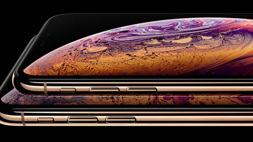 iPhone Xs er tilbage på førstepladsen over de mest solgte mobiler hos 3