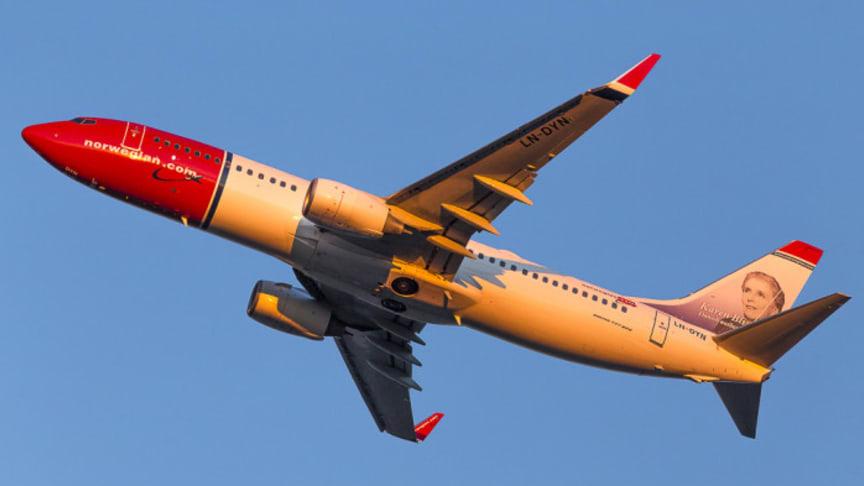 Norwegian anuncia su primera base italiana en el aeropuerto de Roma Fiumicino