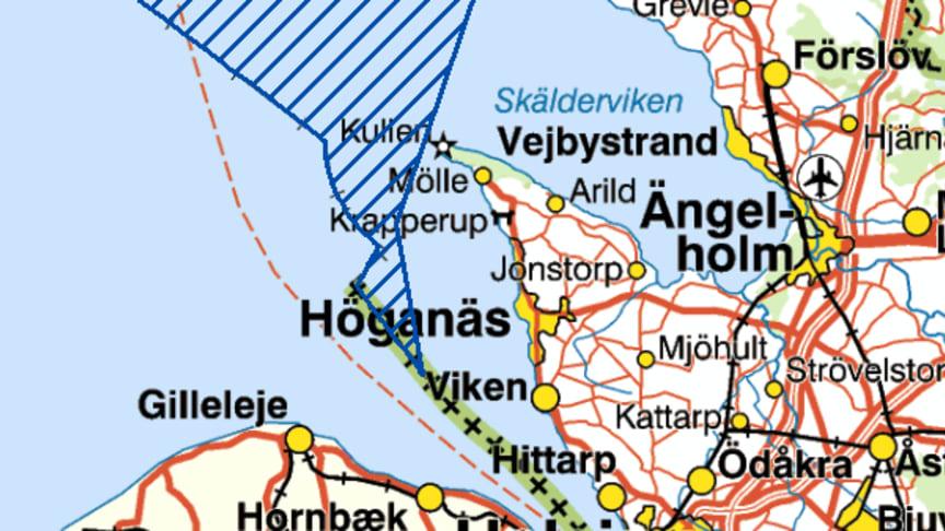 Nya naturreservatet Skånska Kattegatt stärker skydd för tumlare och koraller