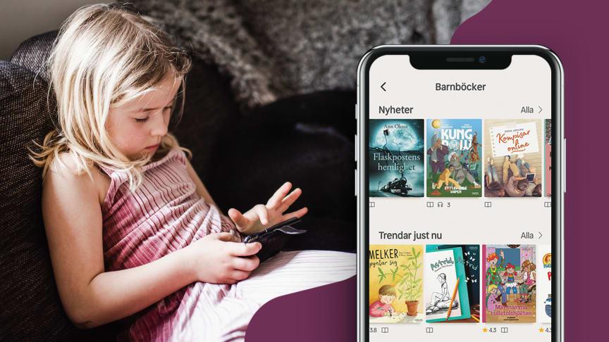Ny kartläggning från Nextory visar: Intresset för digitala böcker ökar – barnböcker överlägset i topp