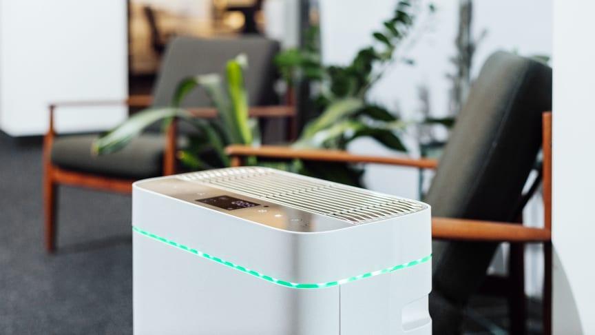 AiroDoctor® Luftentkeimer im Einsatz im Büro, Meeting Raum und Wartezimmer