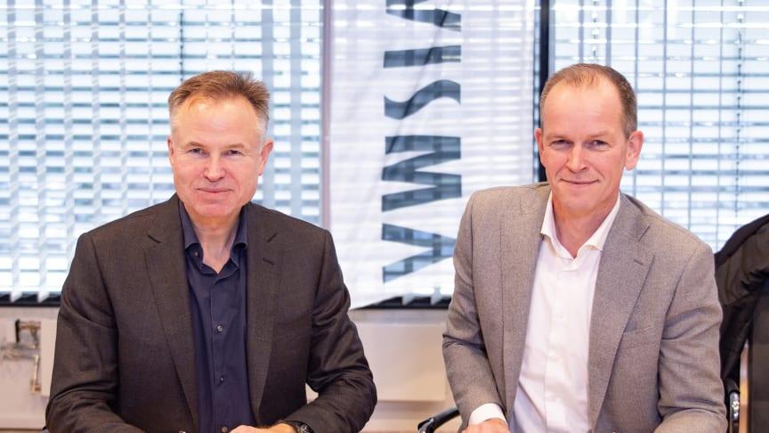 Jumbo-Visma signing / Øystein Moan, Visma og Richard Plugge, Team Oranje