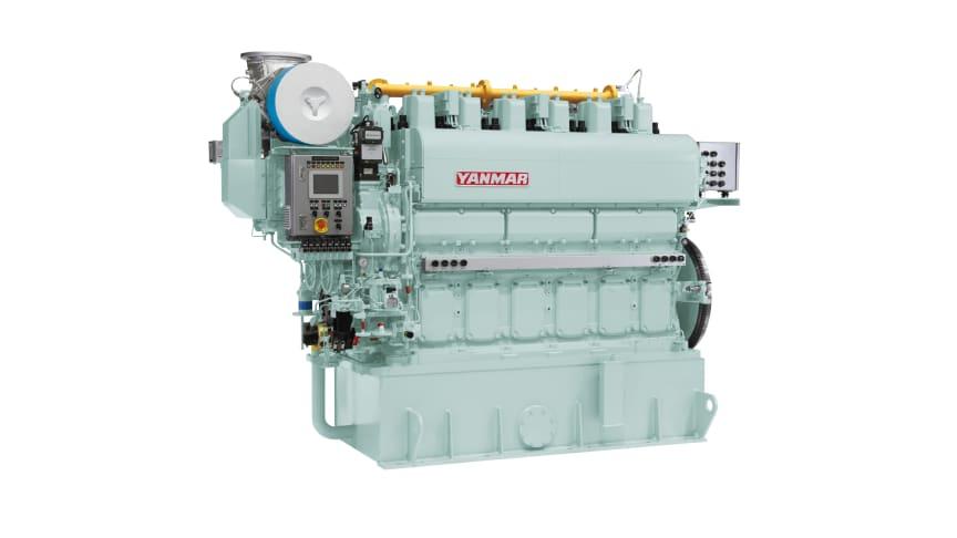 6EY22ALDF Marine Dual Fuel Engine