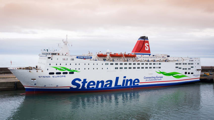 Stena Europe returns to scheduled services on Rosslare - Fishguard