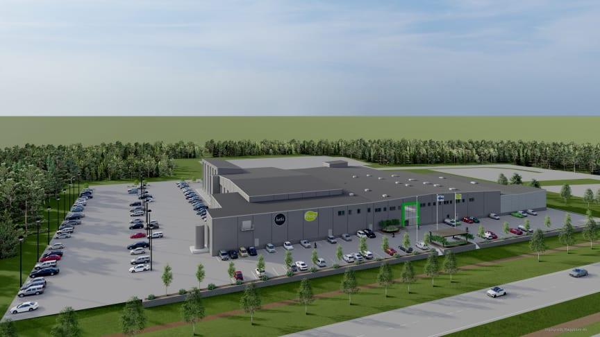 Hetki-tuotteista ja Salaattimestari-salaattibaareista tunnettu Fresh Servant tekee ison laajennuksen Edsevön tehtaalle, jossa lisätään tuoresalaatin tuotannon, logistiikan ja asiakaskeräilyn kapasiteettia.