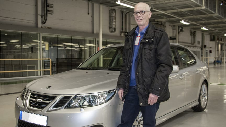 The last Saab ever sold for 465,000 SEK