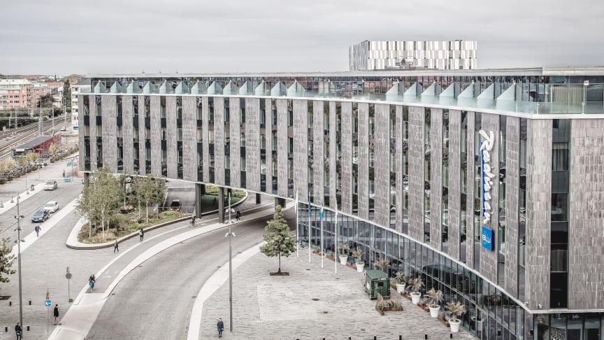 Radisson Blu Hotel, Uppsala, värd för den unika utställningen Glänta