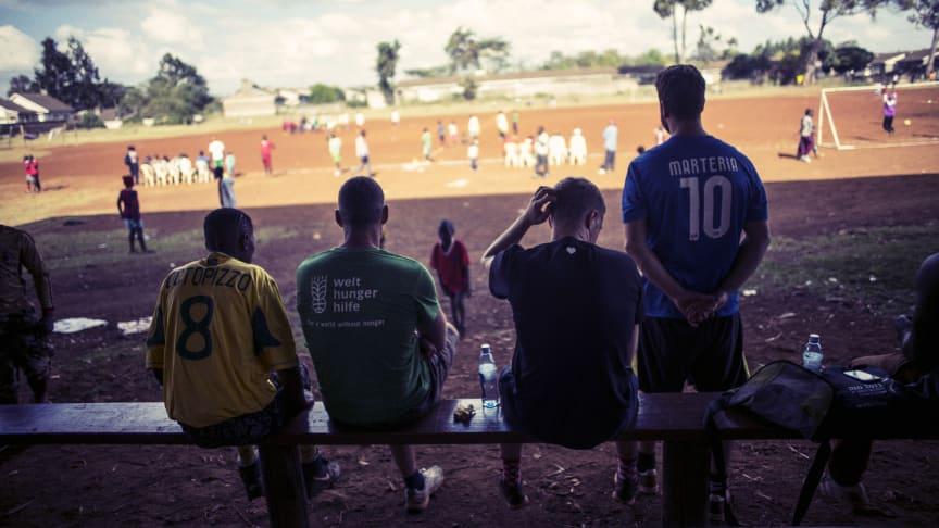 Kenya FOOTBALL MATCH by Paul Ripke