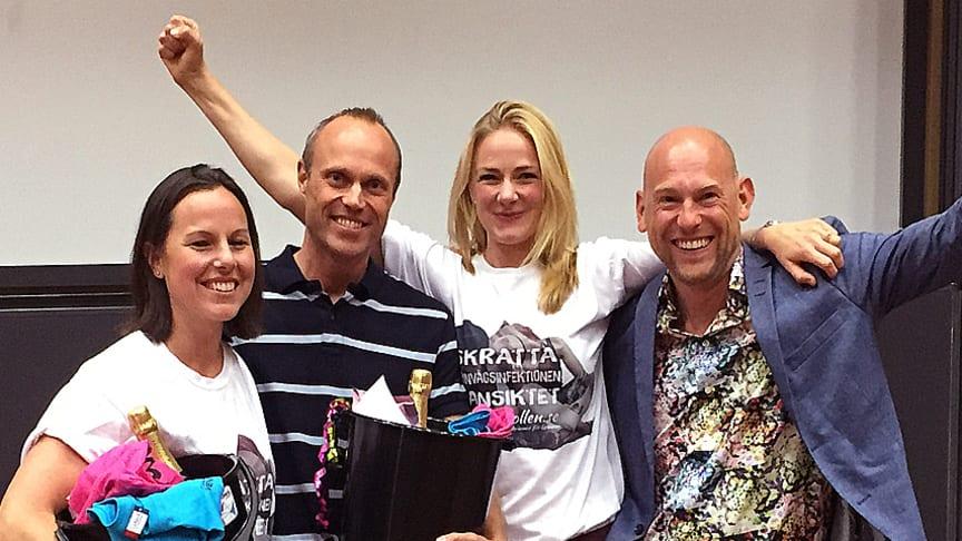 Urinkollen blev vinnare av vårens Startup Camp