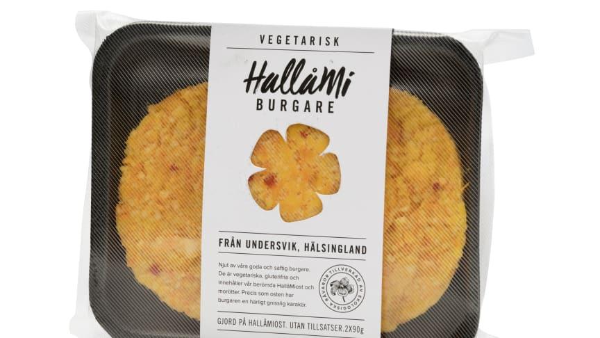 HallåMiburgaren är skapad av Karin Svensson, Erik Svensson, Ulrika Frisk, Hans Frisk, Stefan Sundvall och Annika Westman. Den vann Bästa marknadsmaterialet i Matverk 2017. Foto Menigo