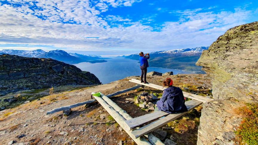 Utsikt fra toppen av Bollmannveien, Foto: Marie Angelsen