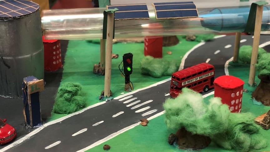 På onsdag går finalen i tävlingen Framtida transporter där elever presenterar hållbara lösningar för framtidens transporter av människor och varor.