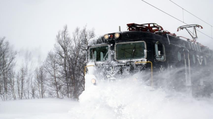 Hitachi Rail digitaliserer 140 km jernbanelinje som forbinder Sverige og Norge i nord