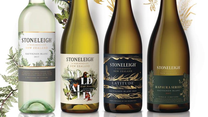 Stoneleigh fångar naturens underverk med sin nya flaskdesign