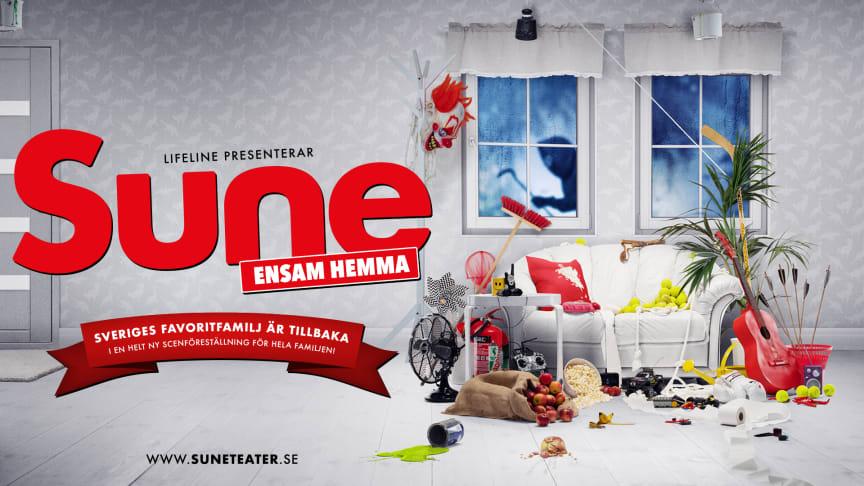 Nu är Sune äntligen tillbaka med en ny  teaterföreställning