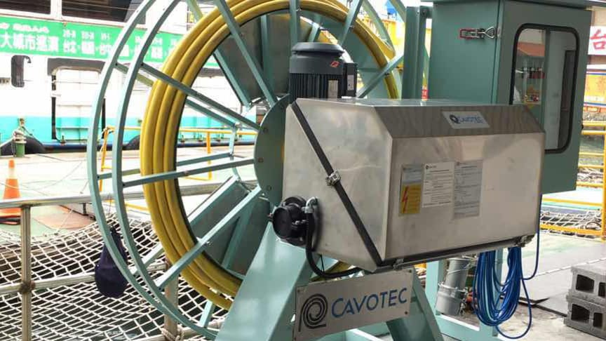 Cavotec connects Asia's first e-ferry to electrical power