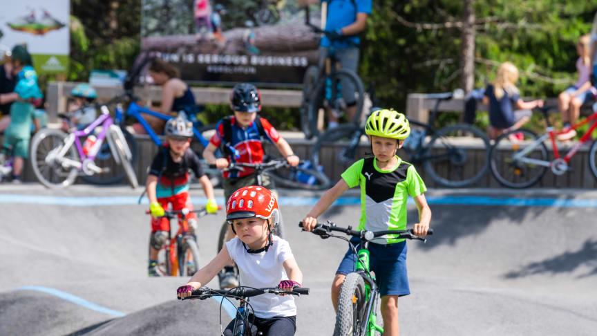 Populær sykkelpark