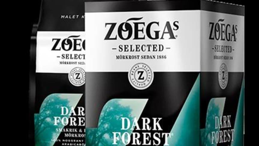 Zoégas lanserar en ny smakrik mörkrost – Dark Forest