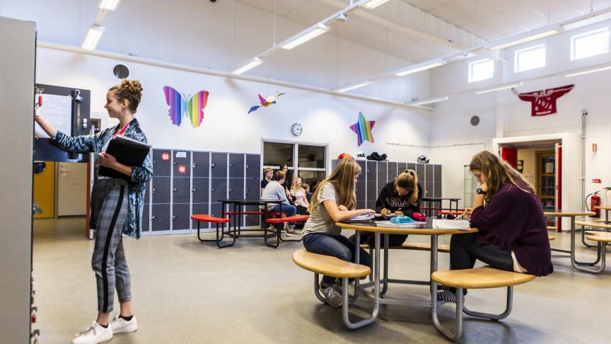 Thoren Framtid i Ljungby bygger en ny skolmodul som möjliggör att ta in fler elever.