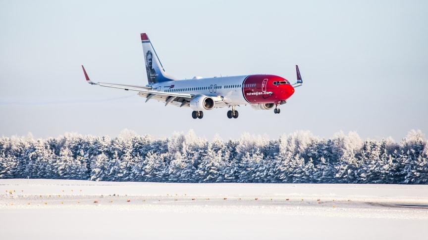 Espanja on Norwegianin matkustajien ykkössuosikki hiihtolomalla
