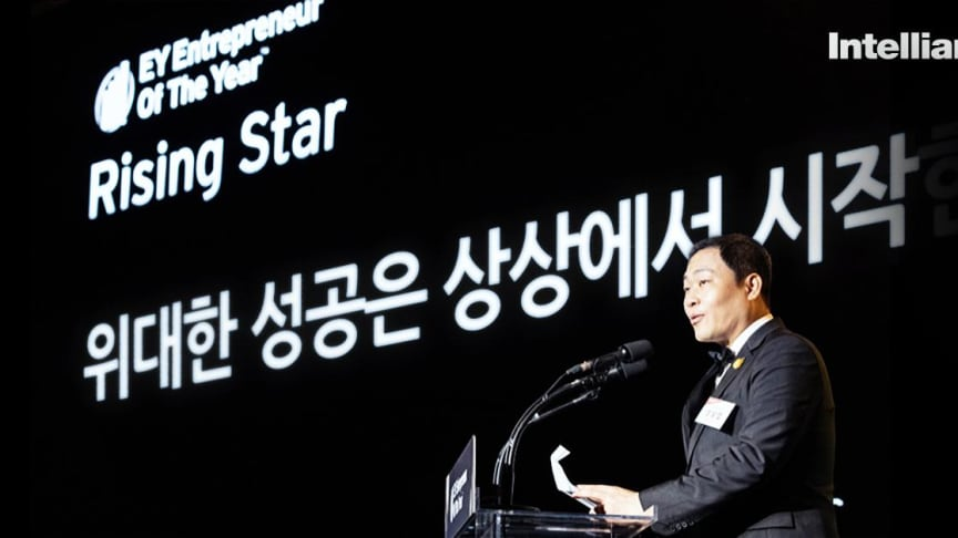 Eric Sung recognised as the Rising Star