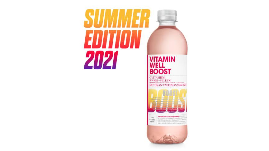 Vitamin Well kesämaku 2021