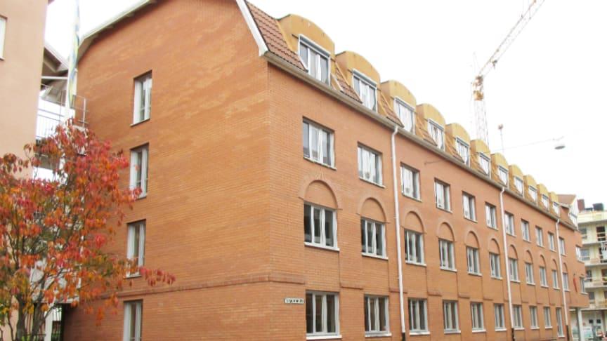 Riksbyggen och Kommunal säljer fastigheten Repslagaren 2 i Skövde