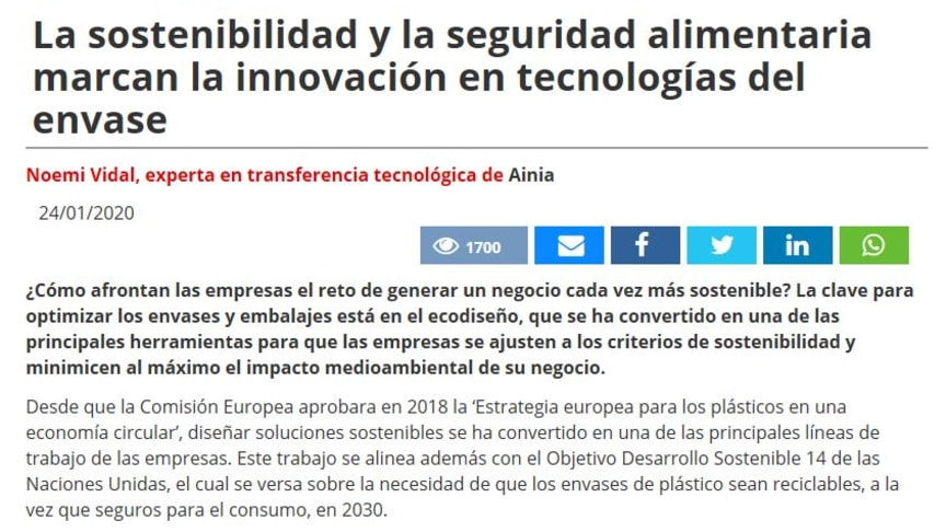 URBIOFIN PRESS RELEASE IN SPANISH