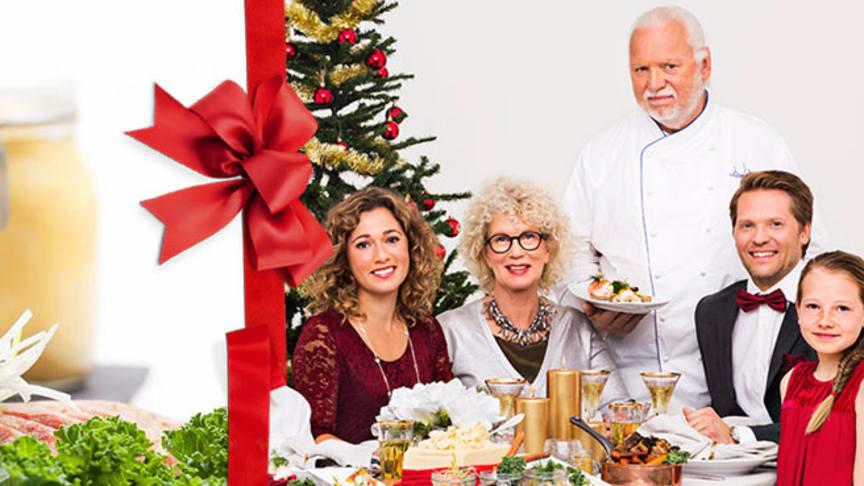 Leif Mannerströms julbord en fortsatt populär tradition.