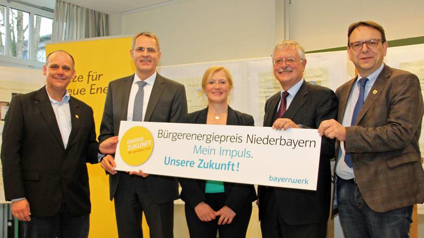 Bürgerenergiepreis Niederbayern 2016: Aufruf zum Bewerbungsstart