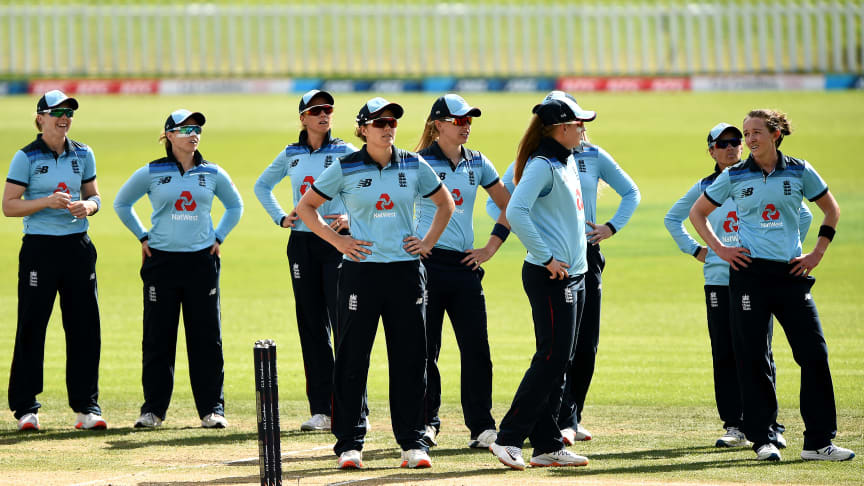 England lost the final ODI, but took the series 2-1. Photo: Getty Images