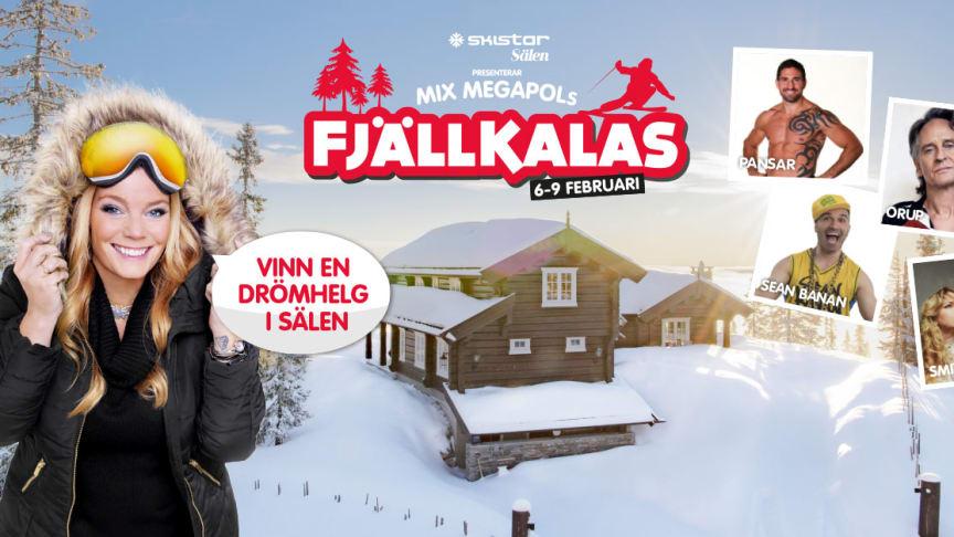Mix Megapols Fjällkalas från Sälen, Lindvallen.