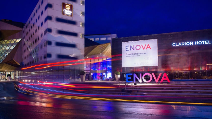 POPULÆR:  Enovakonferansen som finner sted i Trondheim er som vanlig fulltegnet.