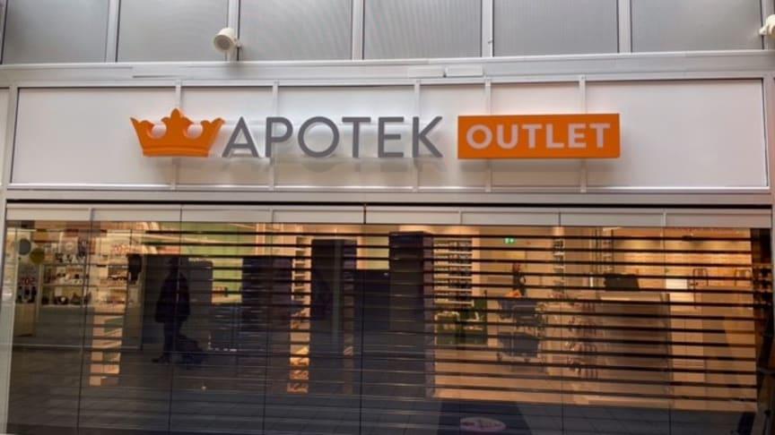 Kronans Apotek öppnar outlet i Angered
