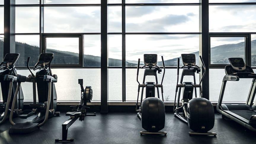 Imorgon öppnar SATS Åre med gratis träning - här är bilderna på gymmet