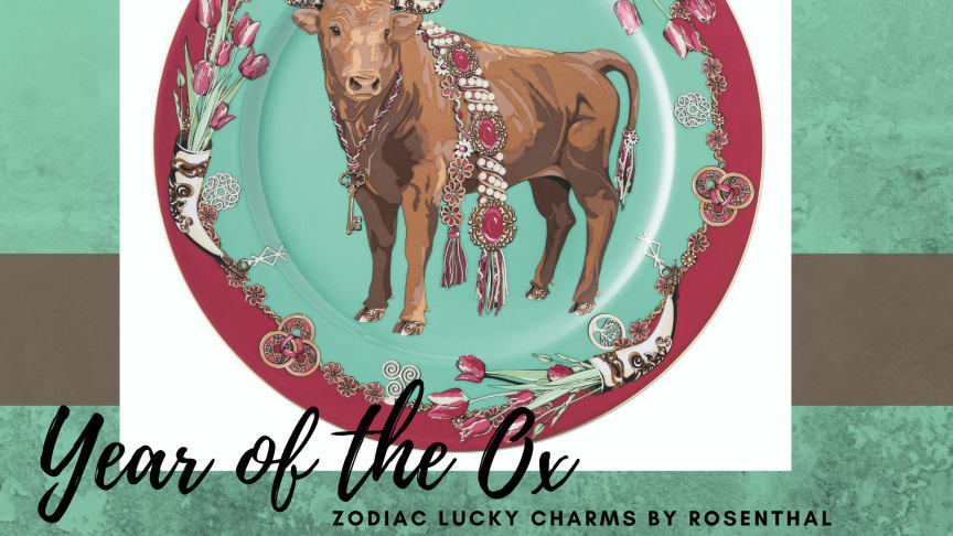 A richly decorated ox symbolises the power of nature and attracts good luck.
