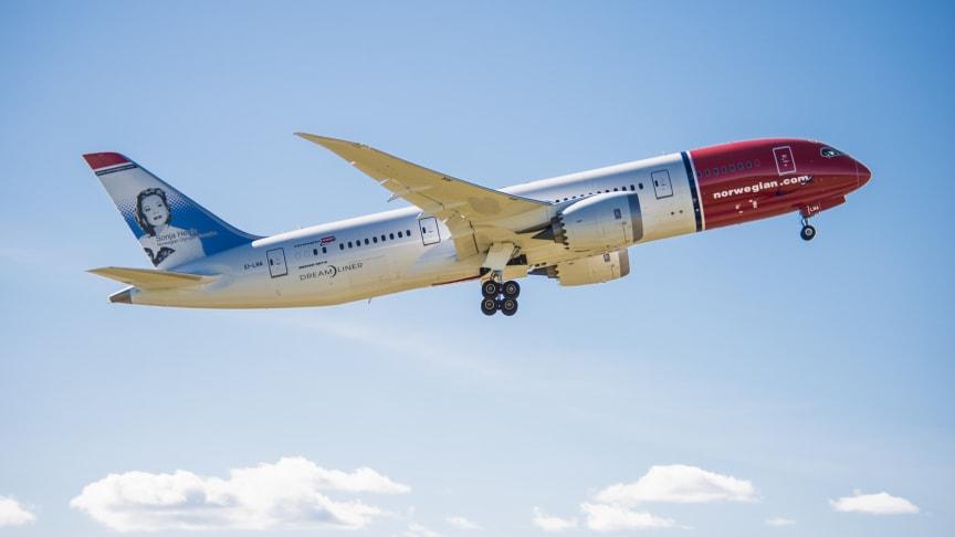 Norwegian anuncia sus tres primeras rutas de largo radio desde Roma