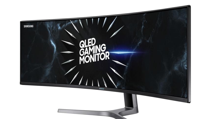 Samsung lanserer 240Hz G-Sync Compatible Curved CRG5 gaming-monitor i Europa under Gamescom 2019