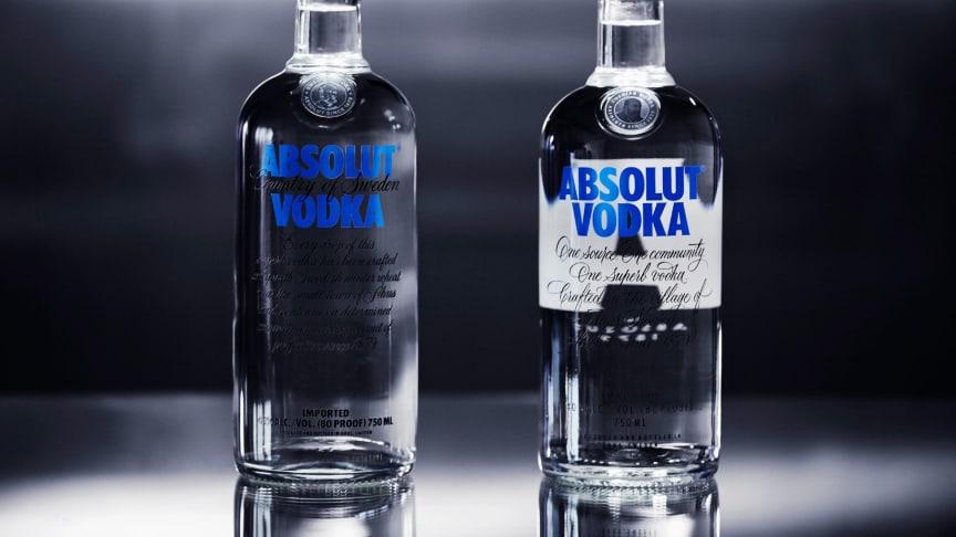 Fortsatt positiv utveckling för Absolut Vodka