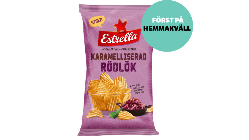 Karamelliserad Rödlök är tillbaka och 'here to stay' - förlanseras på Hemmakväll