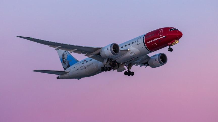 Norwegian's Boeing 787-9, Photo credit: David Peacock