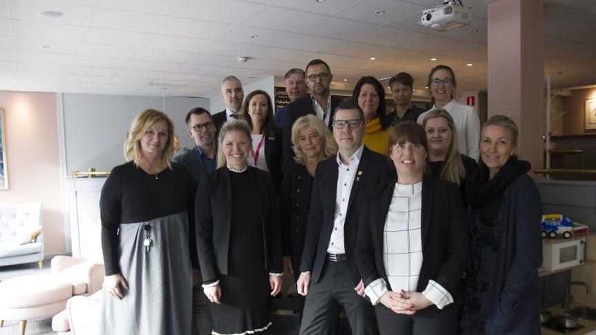 Hösten 2019 slår Yrkesgymnasiet upp portarna till sitt nya gymnasieprogram inom hotell- och tursim. Redan nu sluter hela hotell-Umeå bakom satsningen och träffades förra veckan för att diskutera framtidens utbildning.